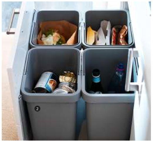 Rationell Recycling Bin Ikea 8 99 Konyha Konyhai 246 Tletek Konyha T 225 Rol 225 S