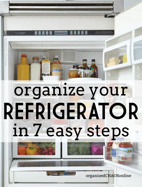 Organize Your Refrigerator In  Steps Easy Steps Yes Youll Have