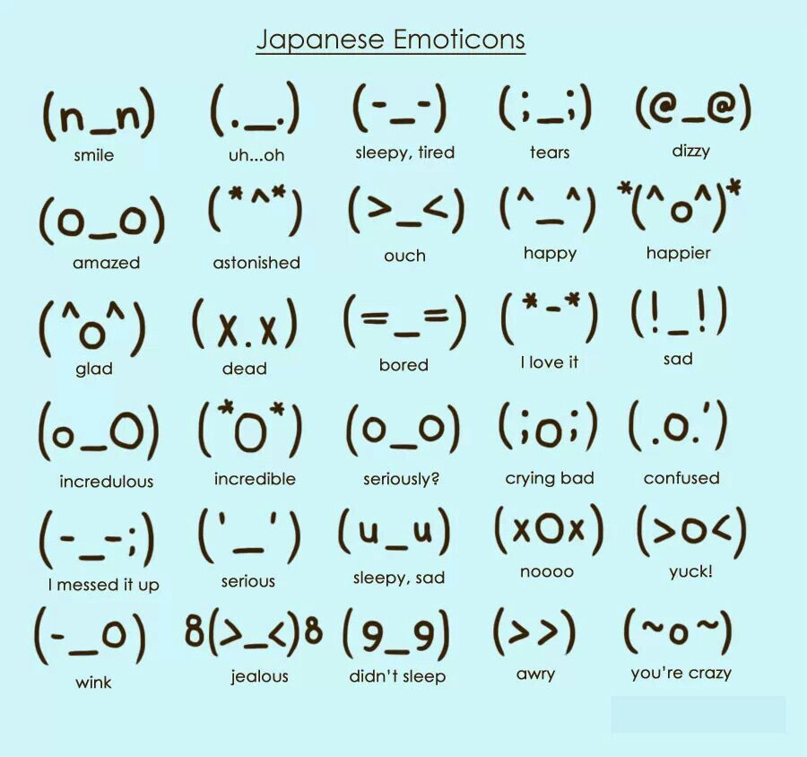 Japanese Emoticons Ganda Pinterest Anime Kawaii And Japanese