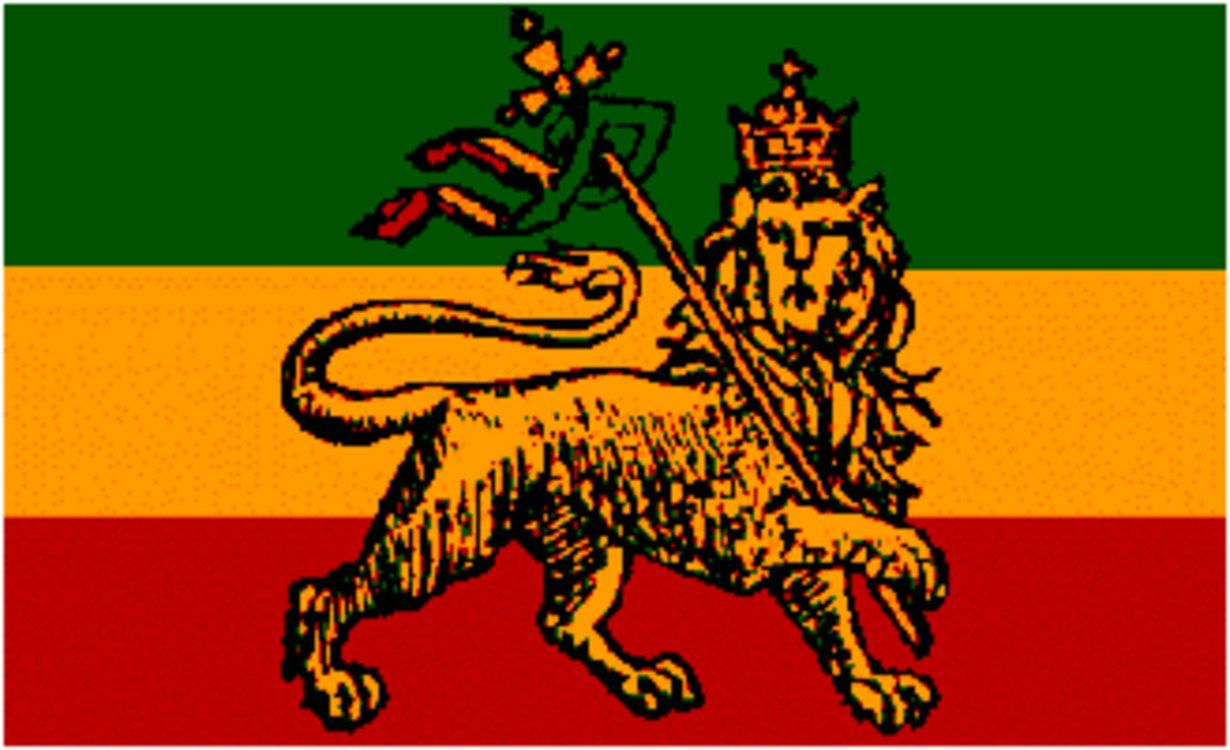 Conquering Lion de la tribu ofjudah Iron On Patch jamacia Rasta Reggae