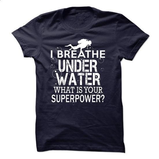 I breathe under water - cheap t shirts #print shirts #kids hoodies