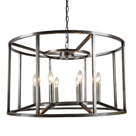 Cage drum candle style chandelier silver drums chandeliers and cage drum candle style chandelier walmart aloadofball Gallery