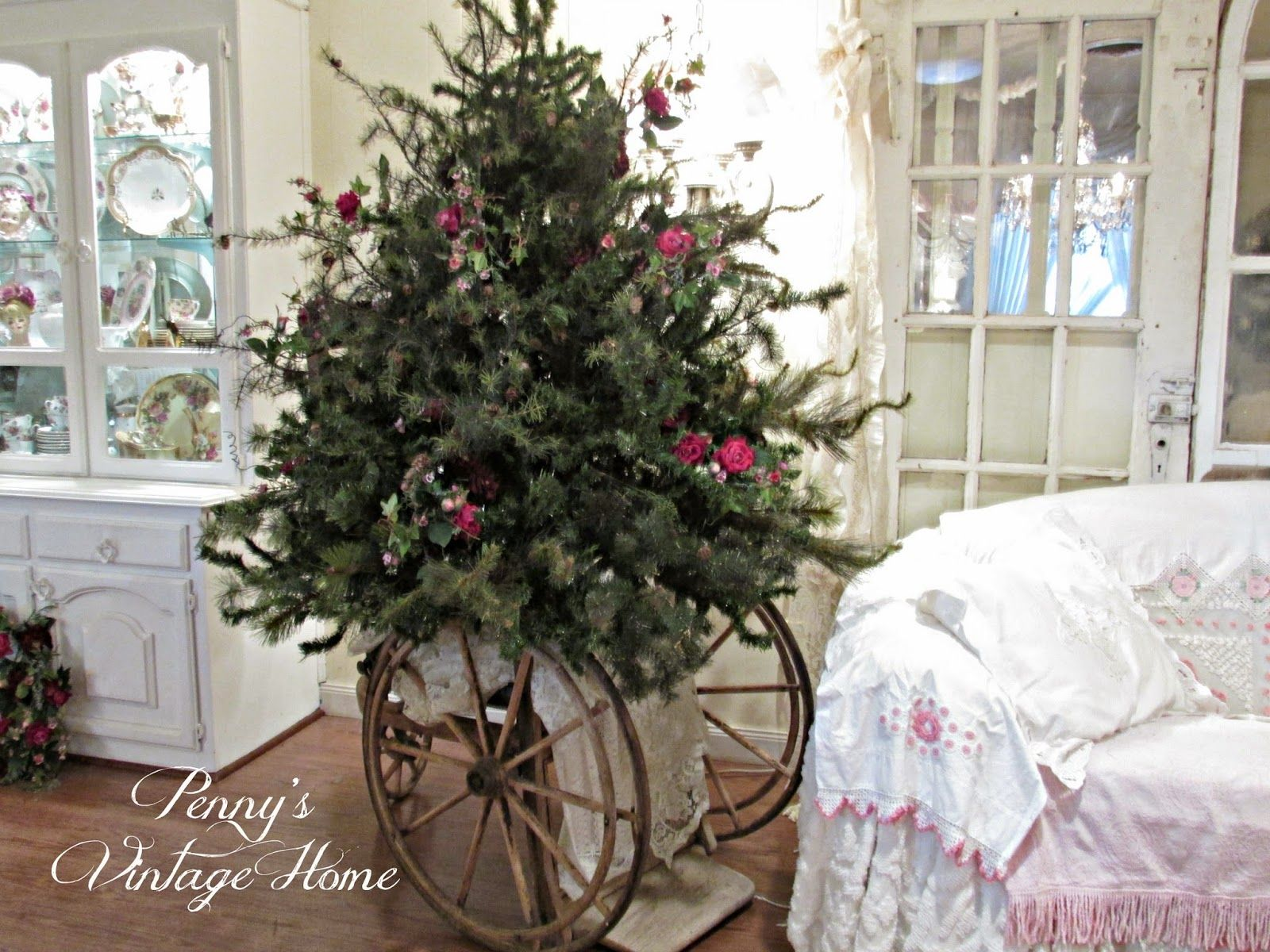Penny's Vintage Home: How to Make a Short, Fat Christmas Tree ...