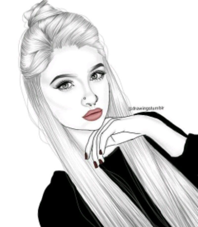 Dessin de fille swag divpictures en 2019 tumblr girl drawing tumblr art et drawings - Dessin swag fille ...