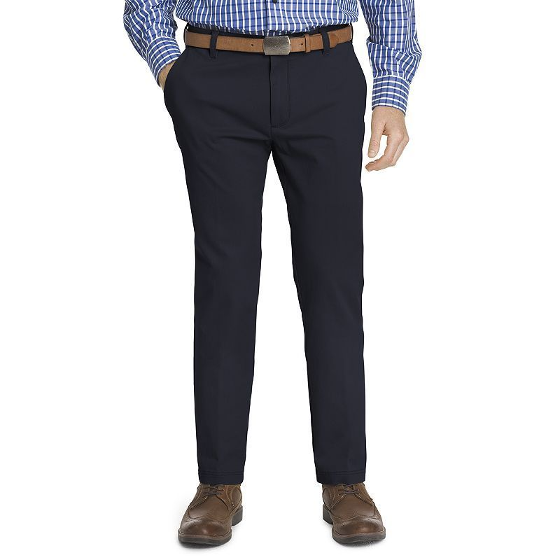 Coolred-Men Plaid Business Classic-Fit Relaxed Premium Select Chino Pants
