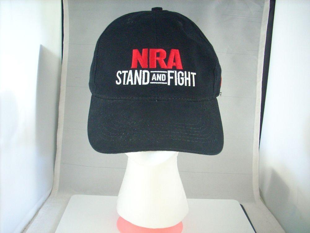 44bddf4da923a NWOT Baseball Cap National Rifle Association NRA Stand and Fight Logo  NRA   BaseballCap