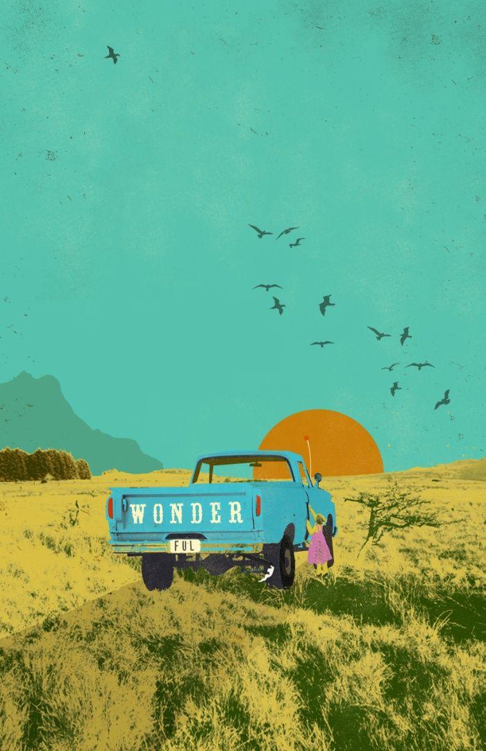 WONDERFUL Art Print by Showdeer | Society6