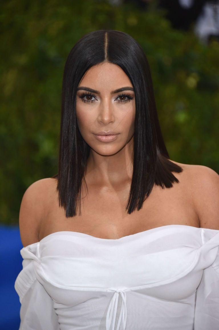 Corte de cabello kim kardashian 2017