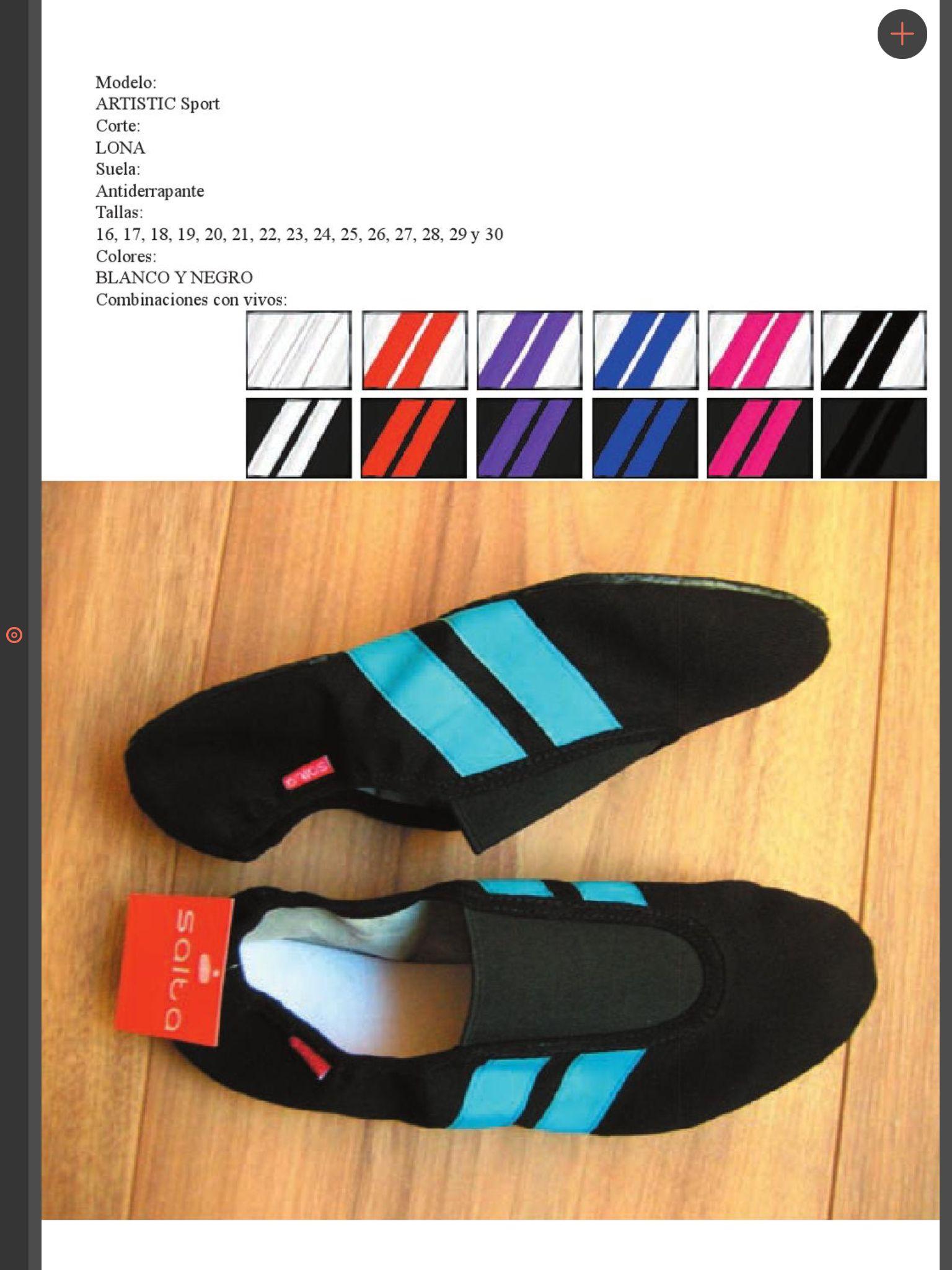 119dd58951c6e0 Zapatillas para gimnasia Artística SALTA. México. saltashoes@gmail.com