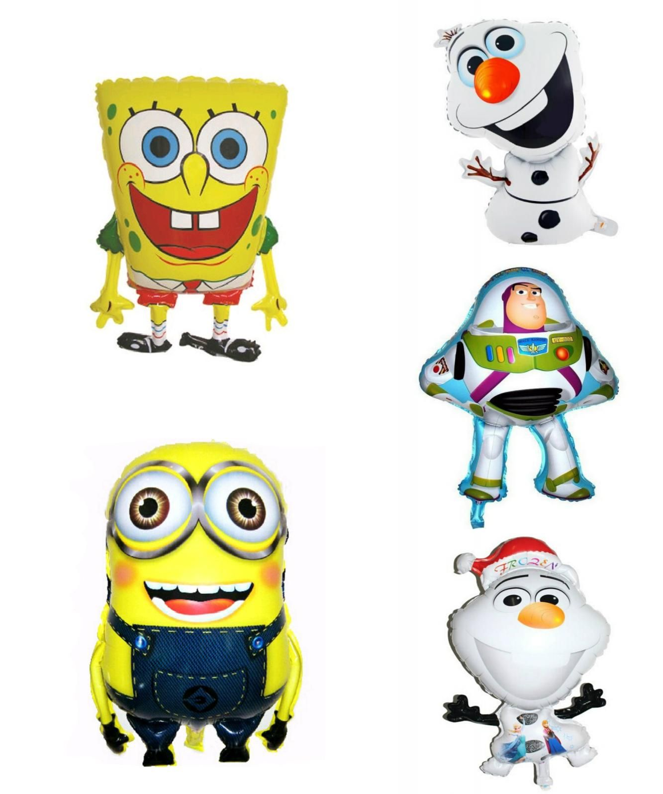 Visit to Buy] large size 50x64cm spongebob party supplies balloon ...