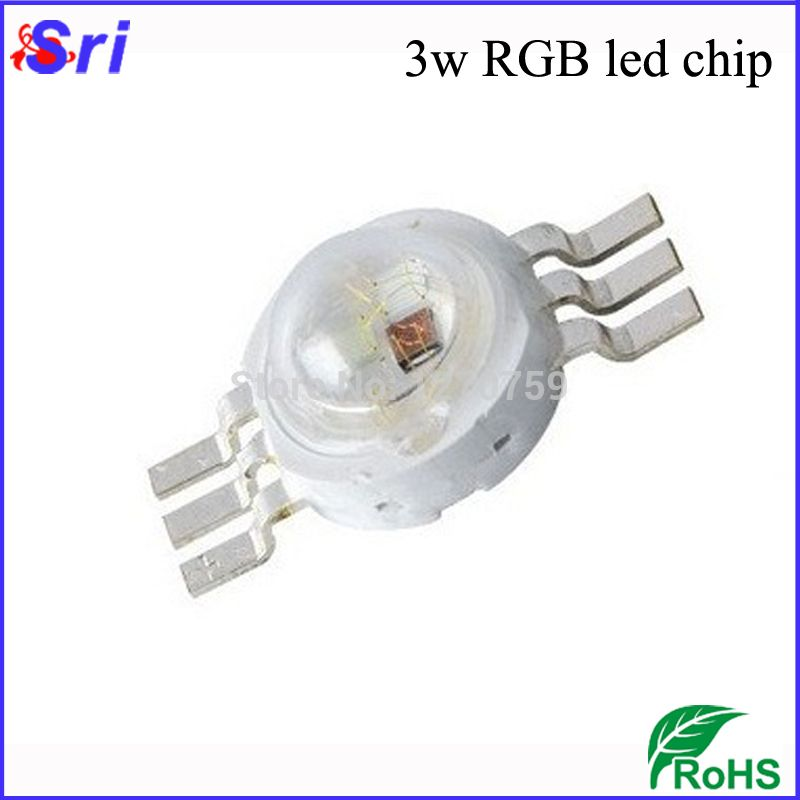 Aliexpress Com Buy 10pcs Lot 3w Rgb Led Diodes 4 Pin 6 Pin High Power Led Light Source With 3 Years Warranty Freeshi High Power Led Lights Led Diodes Rgb Led