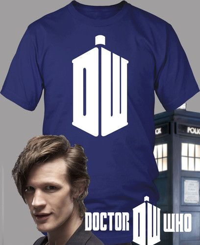 JOrdan=Doctor Who Shirt Logo New Matt Smith Tardis TV DVD 1 2 3 4 Dr Who S-3X   eBay