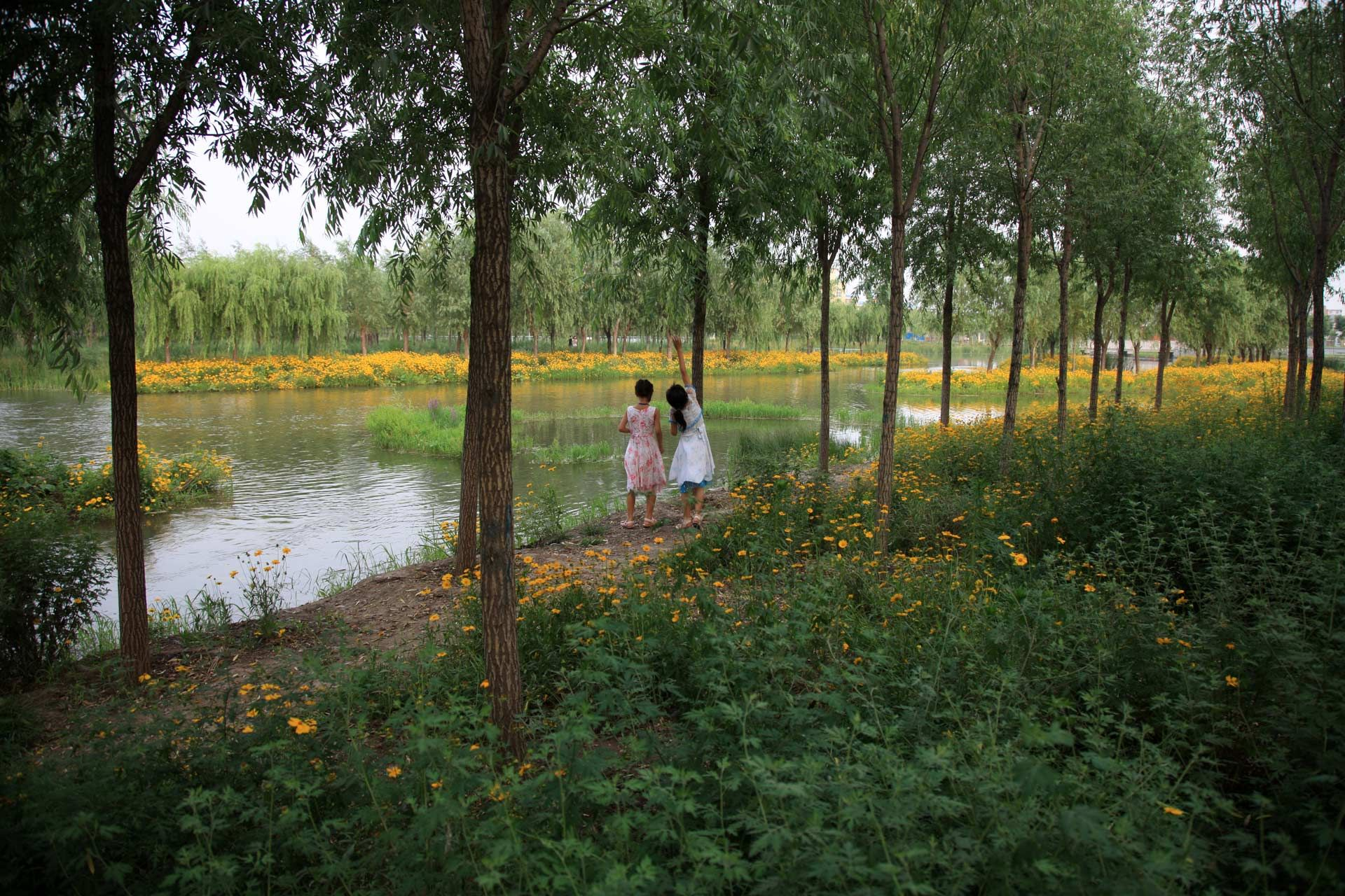 Qianan Sanlihe River Ecological Corridor In Qianan City (China) By