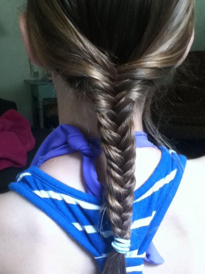 Awesome Fish Tale Beach Hair Hair Styles Hair Wrap