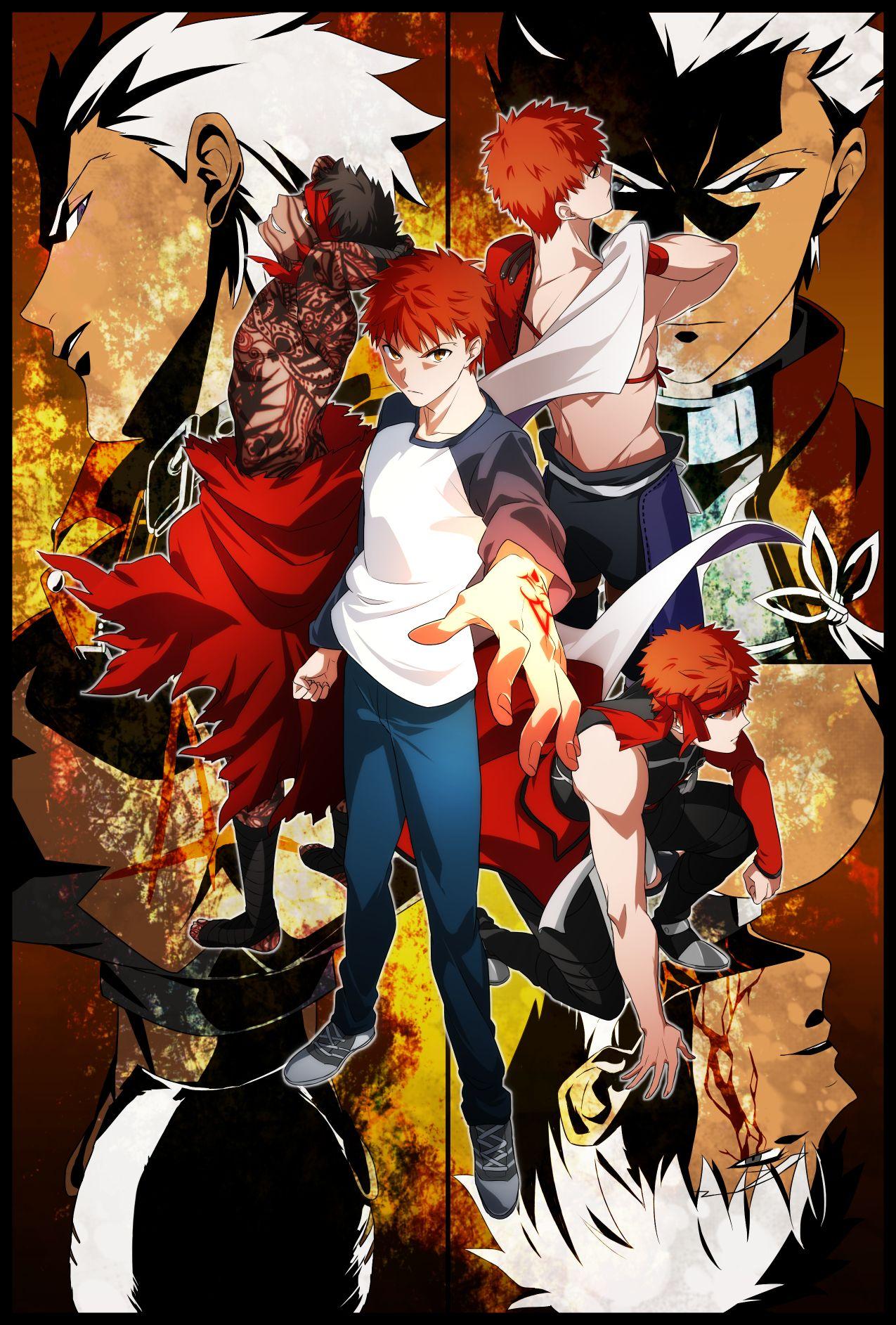 Pinterest Fate archer, Fate anime series, Anime