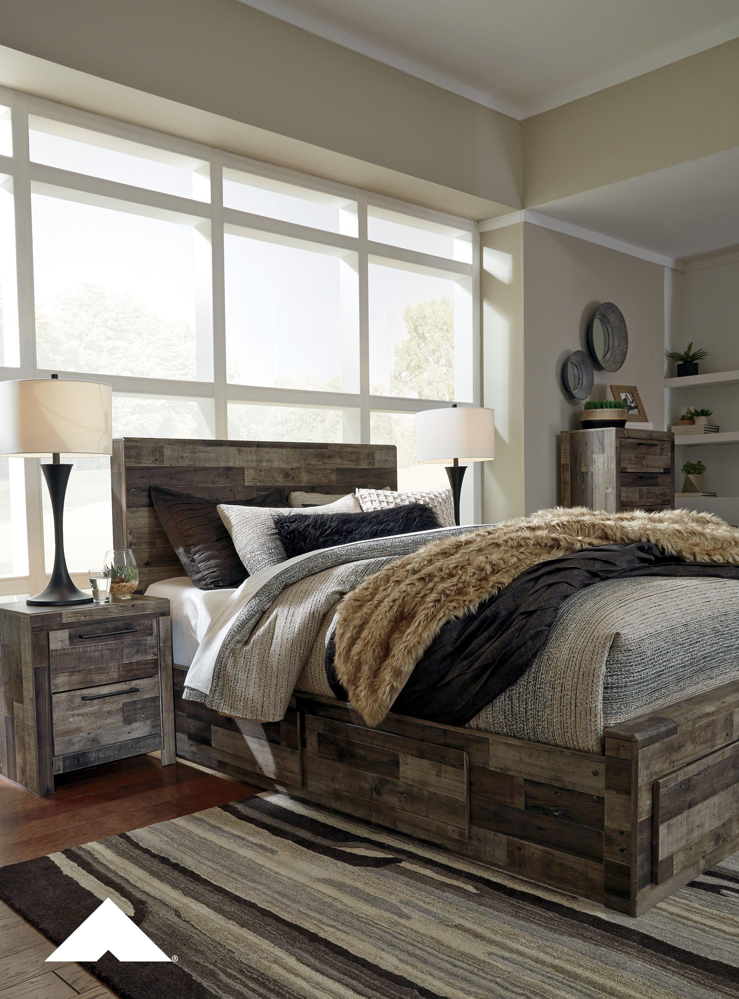 Derekson Gray Master Bedroom By Ashley Furniture