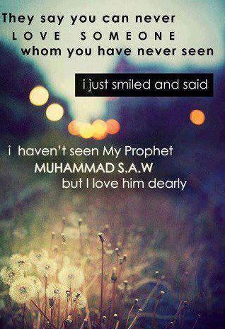 Love the Prophet (saw)