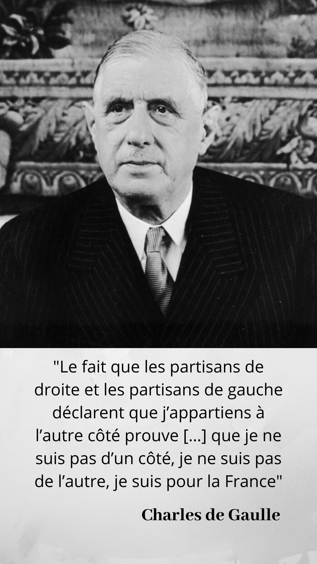 Formule Lapidaire Du General De Gaulle Dans Ses Memoires De Guerre Mais A Qui L Emprunte T Il Citation Politique Citations Politiques Citation De Gaulle