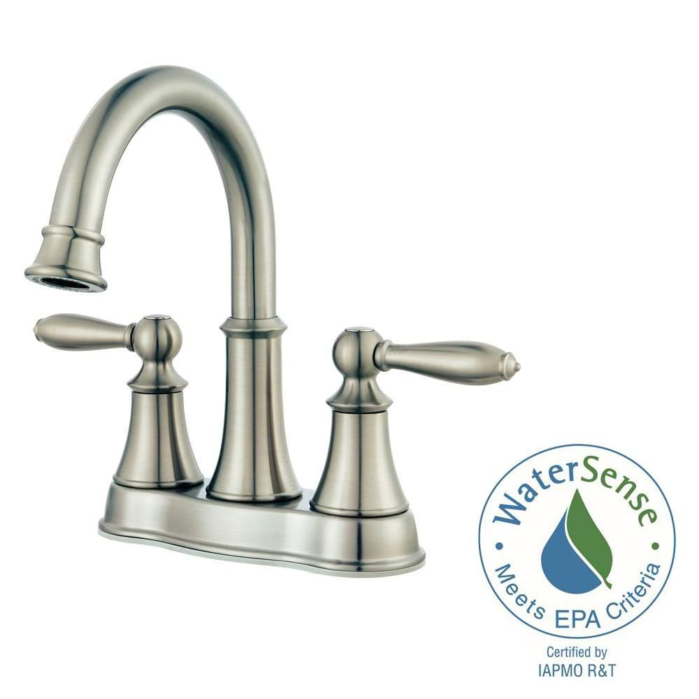 Get this - Pfister Courant 4 in. Centerset 2-Handle Bathroom Faucet ...