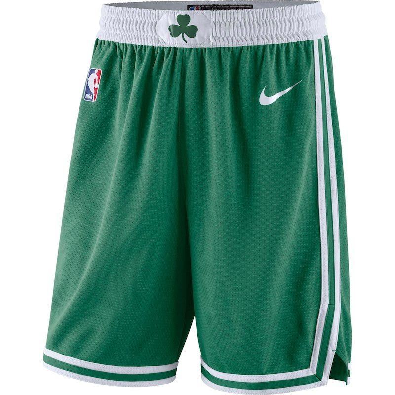 c21d016818556 Boston Celtics Nike 2018/19 Icon Edition Swingman Shorts - Kelly Green