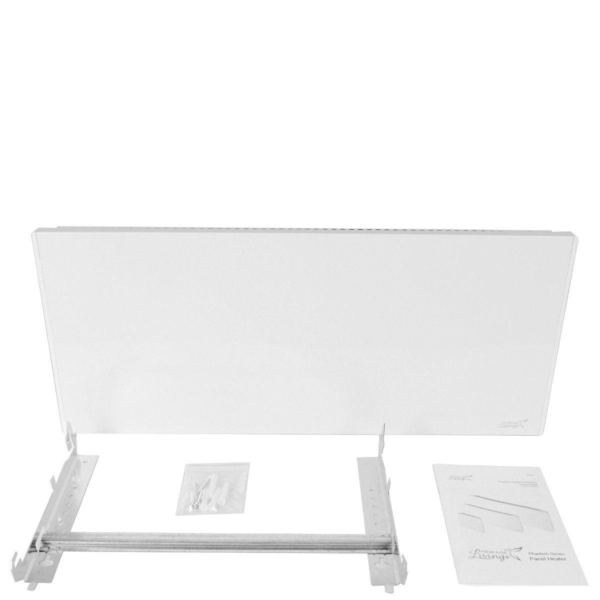 New Age Living Phantom 10 Wall Panel Heater 750w Radiant