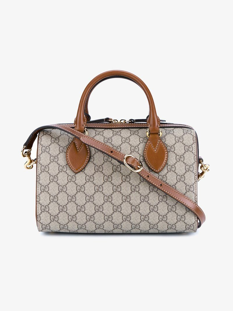 b66f2221e453 GUCCI GG SUPREME TOP HANDLE BAG. #gucci #bags #shoulder bags #hand bags # canvas #leather #lining #