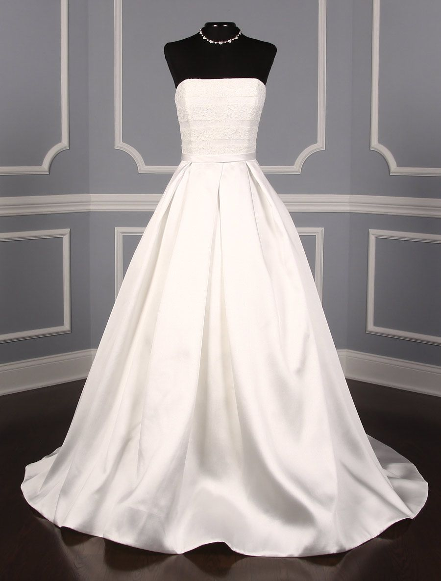 Anne barge cloister wedding dress blue willow bride in dream
