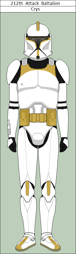 212th Attack Battalion Clone Trooper Crys By Vidopro97 Star Wars Awesome Star Wars Clone Wars Clone Trooper Armor