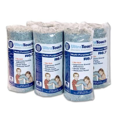 16 in. x 48 in. UltraTouch Denim Insulation Multi-Purpose Roll (6-Pack)-60306-16482 at The Home Depot