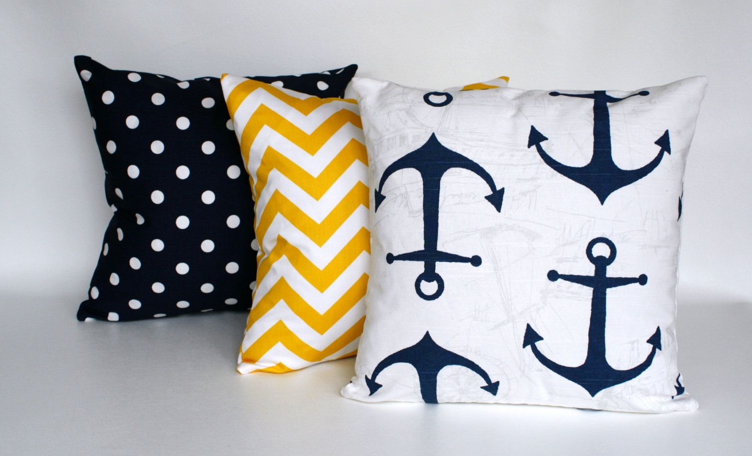 Zipper Pillow Navy Blue Pillows Navy And Yellow By