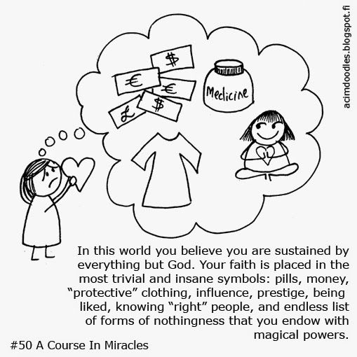 A Course In Miracles Workbook Lesson 50 Acim Doodles Visit