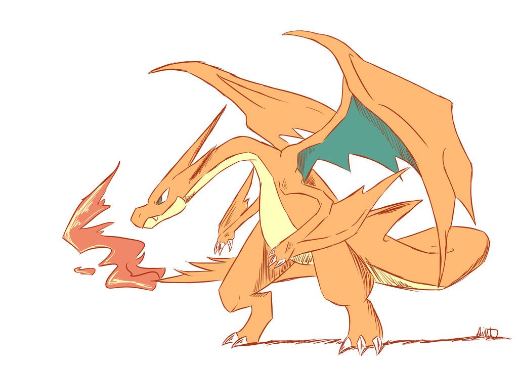 mega charizard y by littlescarecrow on deviantart