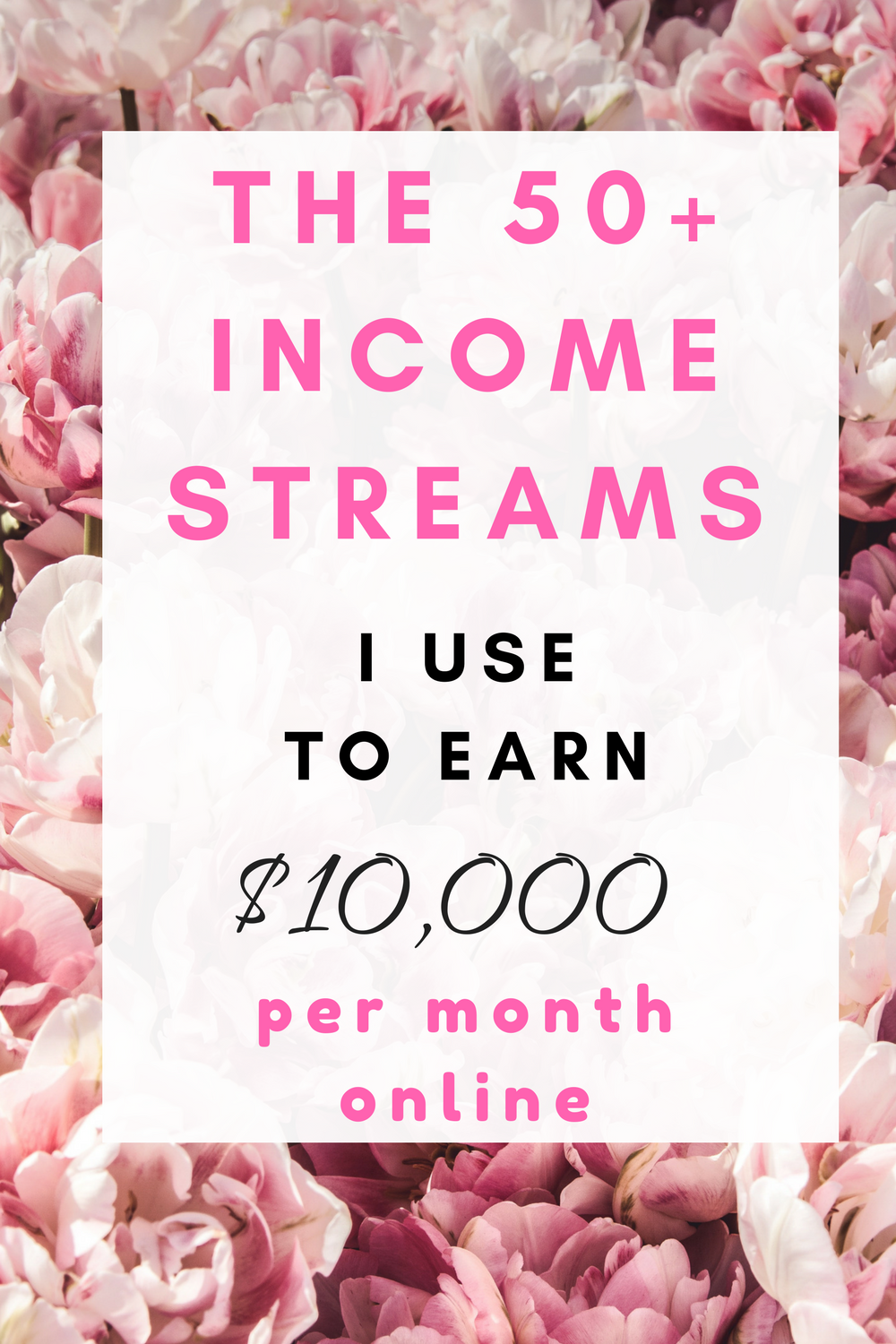 50+ income ideas for bloggers to make $10,000 each month online. 50+ ...