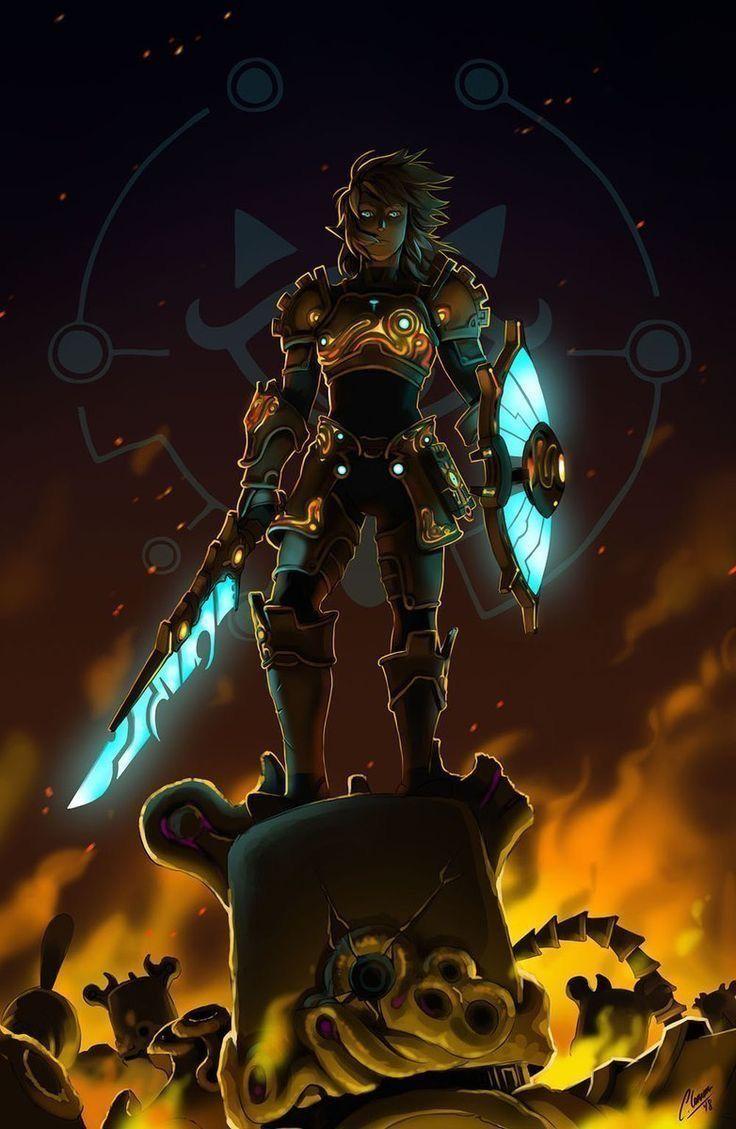 Pin on Fanart The legend of Zelda