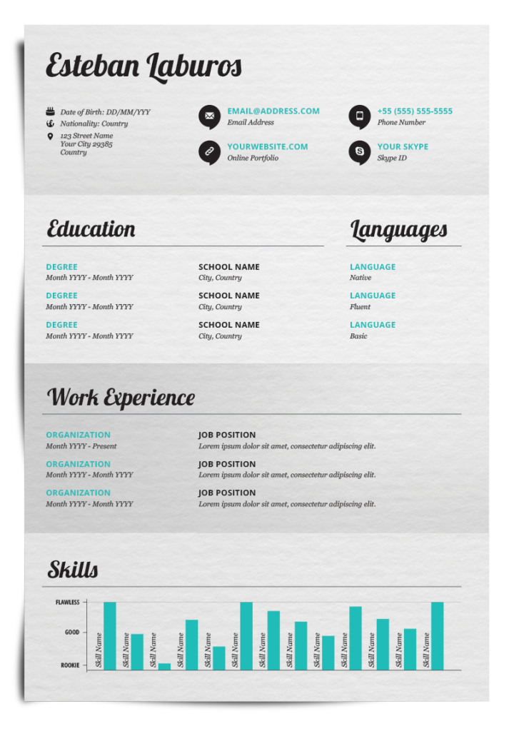 Create Visually Appealing Resumes With Piktochart To WOW Your Future  Employer. Here Are Some Examples Of Beautifully Designed Resumes To Inspire  You.