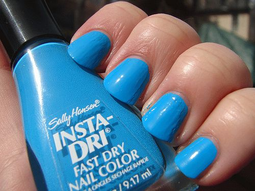 love this color - it does not however come off very easy so either put a clear polish beneath or prepare to spend a bit of time with remover