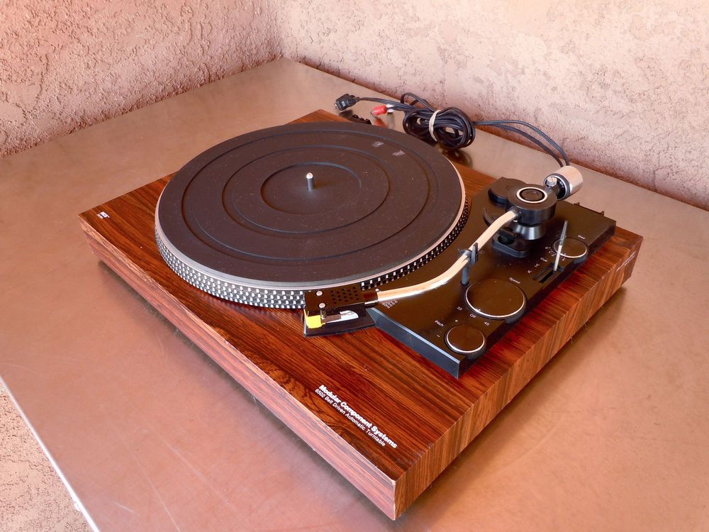 Modular Component Systems (MCS) 6502 TURNTABLE - Beautiful Rosewood