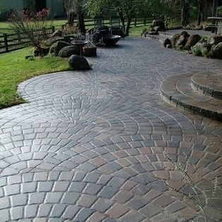 Designer pavers adoquines patio decoraci n p rgolas for Adoquines para terraza