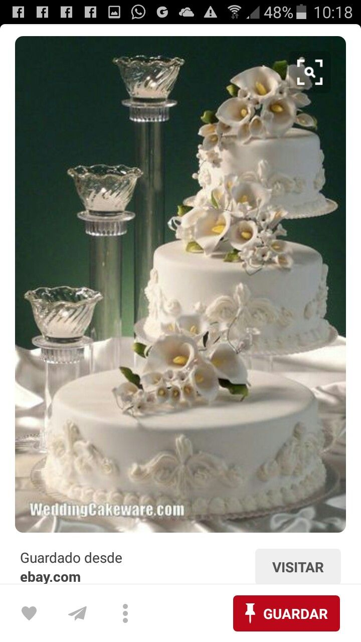 Pin by louise pope on classic wedding cakes pinterest wedding