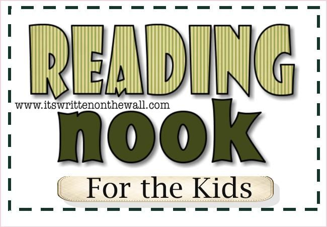 It's Written on the Wall: Design Your Own Reading Nook for the Kids!