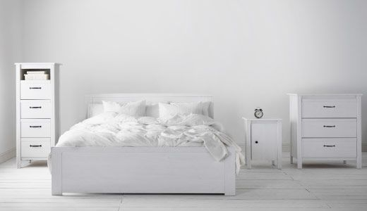 Ikea Brusali White Series
