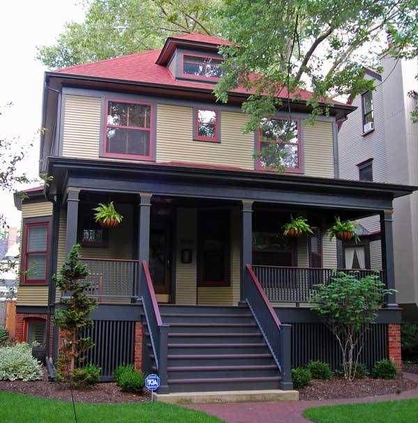 Best Color Combinations For Home Exterior: Exterior House Paint Colors Combinations Paint Best Home