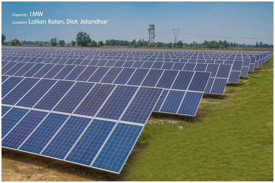 Punjab Is Heralding A Green Power Revolution In The Country From A Meager 9mw In 2012 To 105 Roof Solar Panel Green Power Renewable Energy Systems