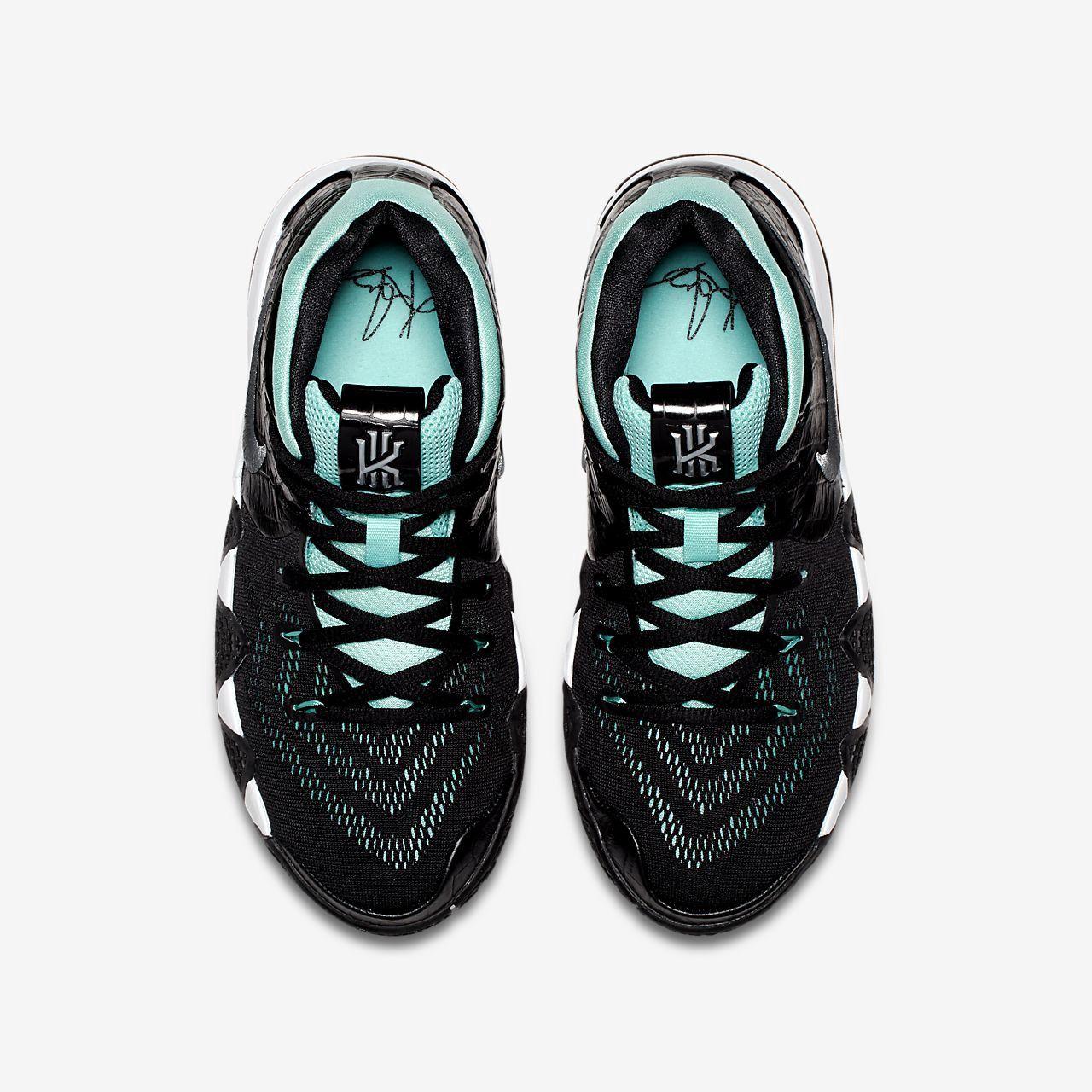 8cc0fd5704e Nike Kyrie 4 Big Kids  Basketball Shoe - 5.5Y Silver