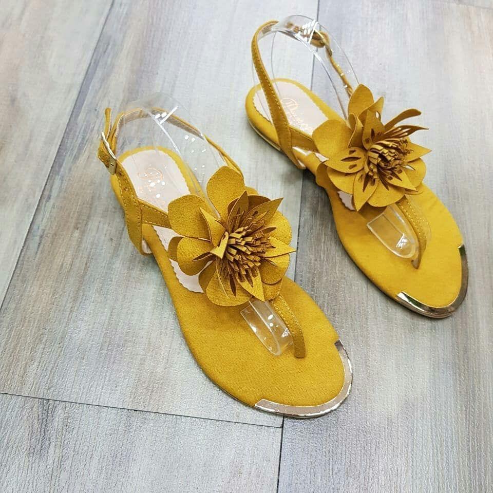 Sandalias planas desde la talla 35 hasta el 40