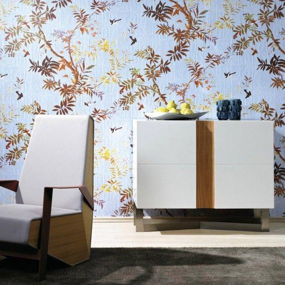 elitis pleats eve wallpaper papers and fabrics. Black Bedroom Furniture Sets. Home Design Ideas