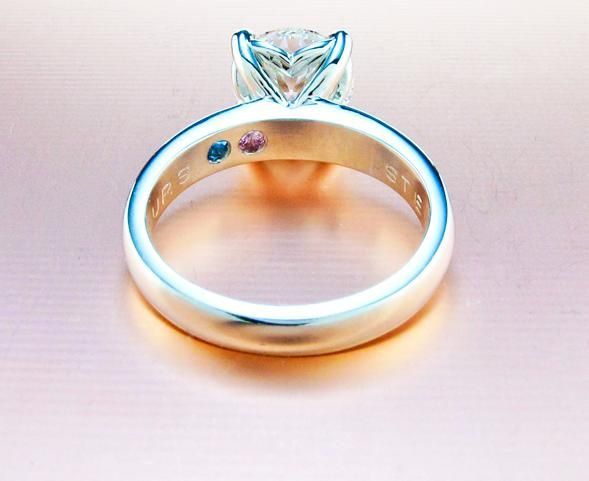 Engraving Birthstones Inside Your Ring Ideas Please Wedding