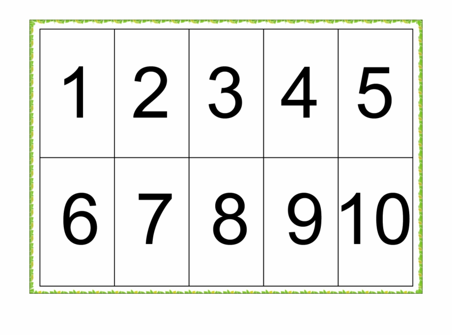 Math Symbols Png 1 To 10 Numbers Free Picture Png Number 1 To 7 Printable Flash Cards Free Printable Numbers Free Pictures