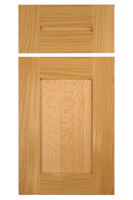Cope and stick shaker style cabinet door with wide 3 1 8 for Door rails and stiles