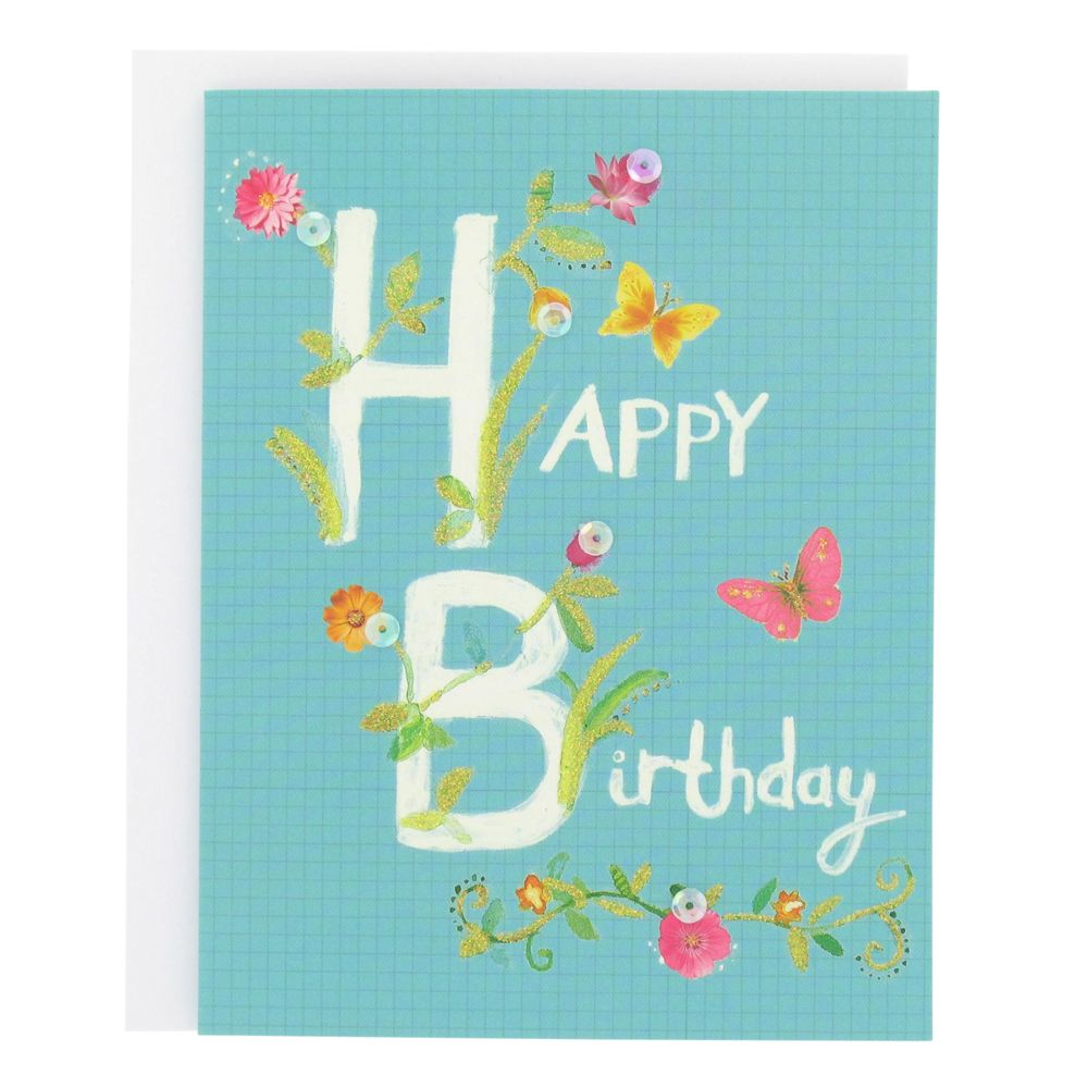 Paperchase secret garden birthday card – Paperchase Birthday Cards